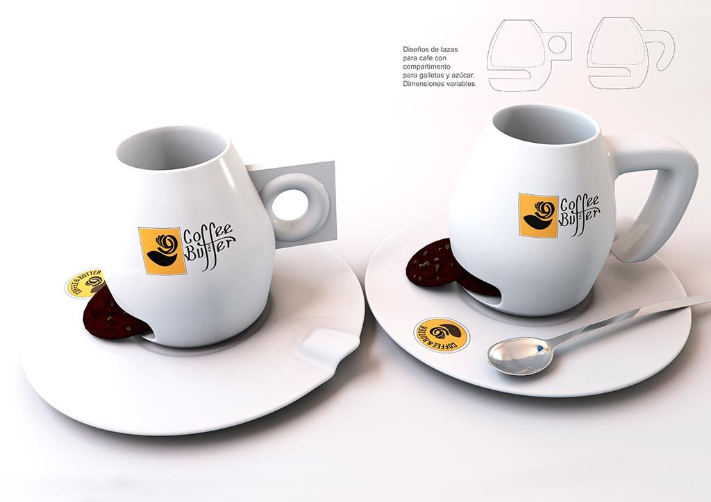 Cofee and Butter-Tazas